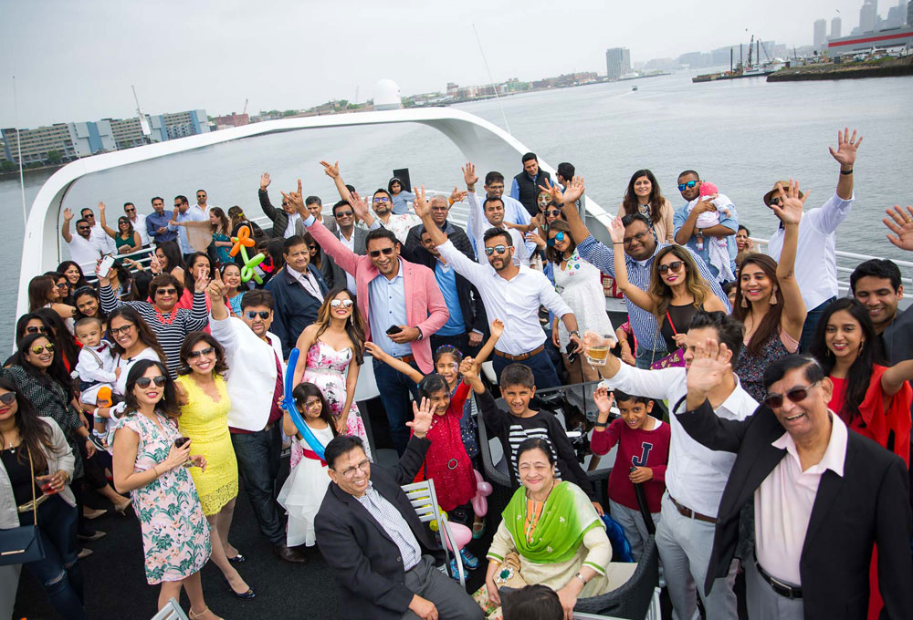 Birthday Party on a Yacht in Mumbai