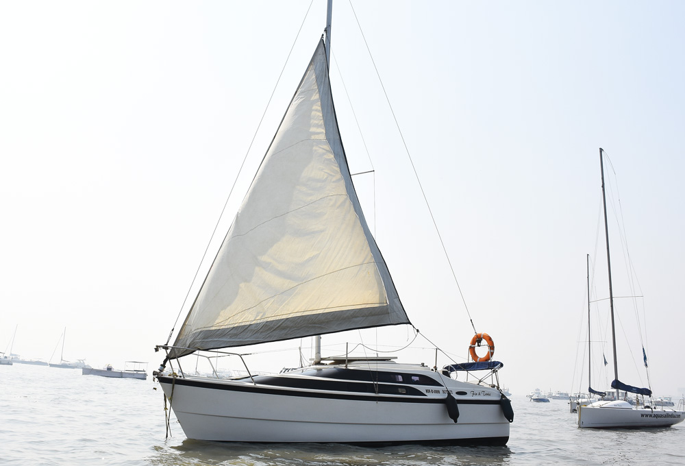 Macgregor 26 Sail Yacht on Charter in Mumbai