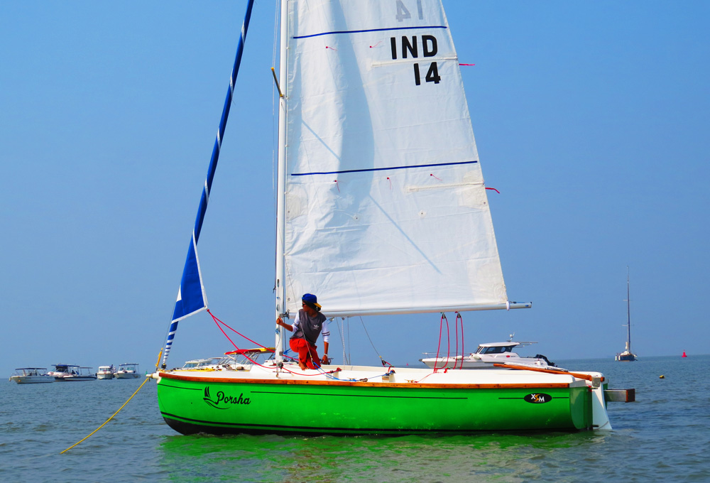 XS 63 (8 Seater) Sail Yacht on Charter in Mumbai