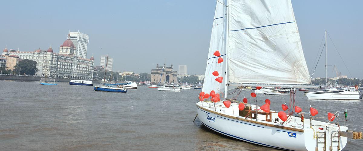 Yacht Surprises Mumbai